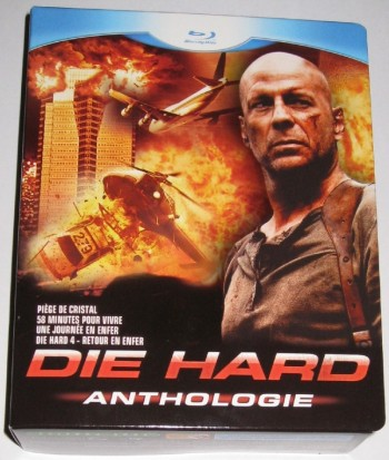 Die Hard anthologie Coffret Blu-Ray
