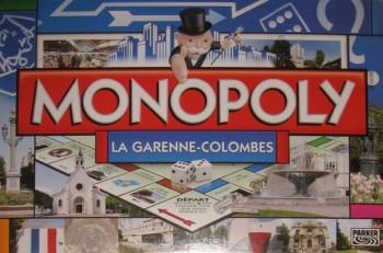 Monopoly de la ville La Garenne-Colombes