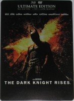 La boite métal du blu-ray The Dark Knight Rises