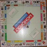 Photo du plateau du jeu du monopoly de la Garenne-Colombes
