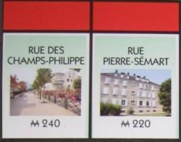 La rue des Champs-Philippe et la rue Pierre-Sémard dans le monopoly