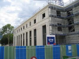 La nouvelle Salle de Spectacles de la Garenne-Colombes vue depuis la rue Louis-Jean