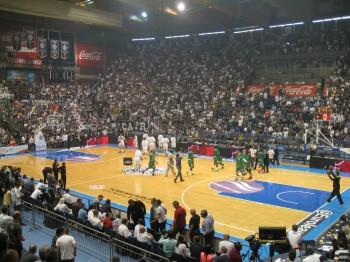 JSF Nanterre au Pionir Arena de pour affronter le Partizan Belgrade