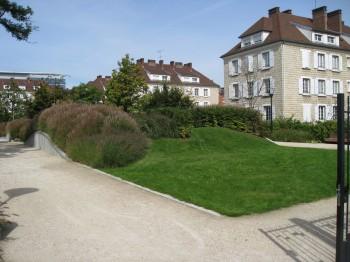 jardin La Sablière, quartier des Champs Philippe de la Garenne-Colombes