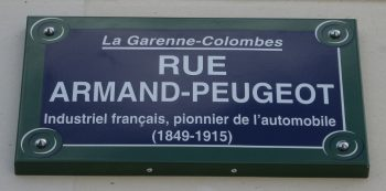 Rue Armand-Peugeot à La Garenne-Colombes