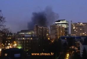 incendie place de Belgique